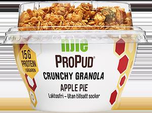 Propud granola apple pie