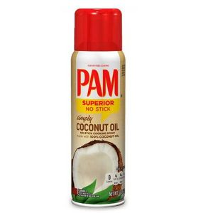 Pam coconut spray
