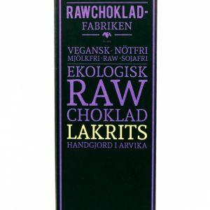 raw choklad lakrits