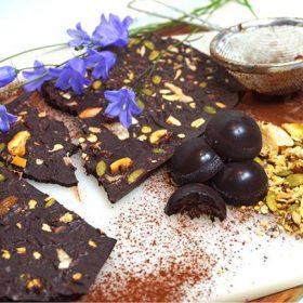 raw chokladkaka