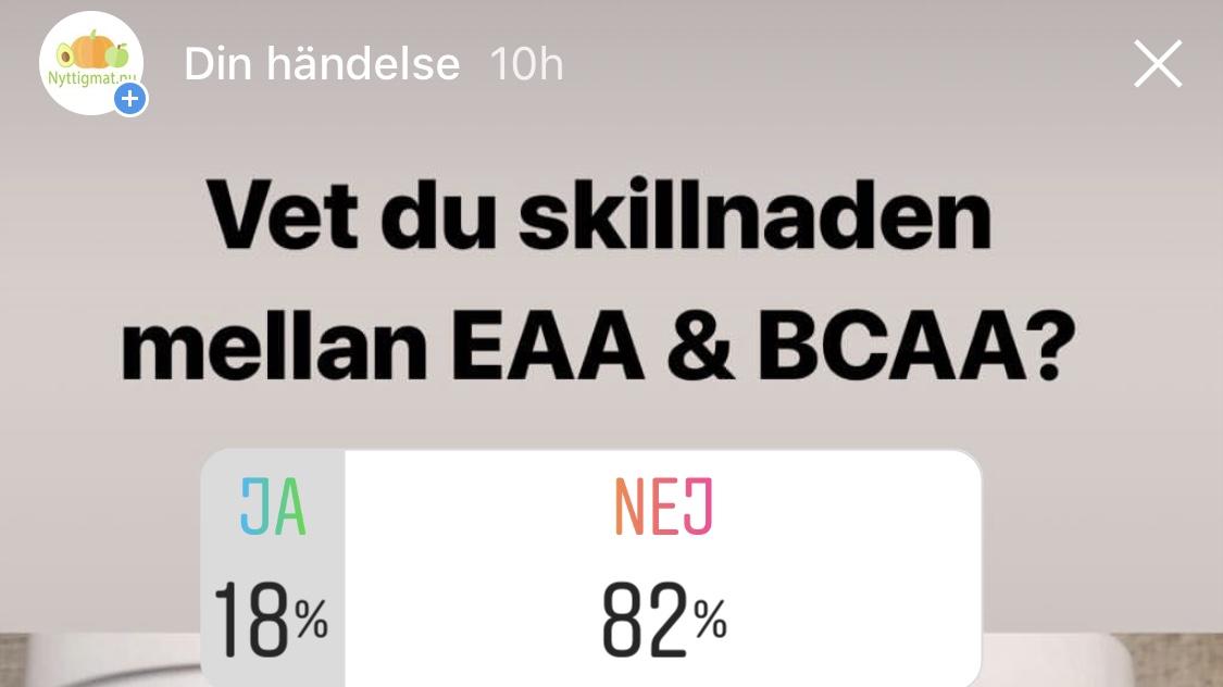 EAA vs BCAA