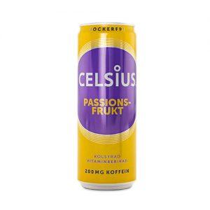 celsius passionsfrukt billigt
